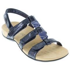 Vionic Amber Synthetic Navy Sandals