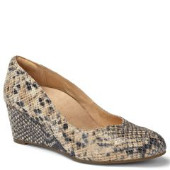 ANTONIA LEATHER NATURAL SNAKE