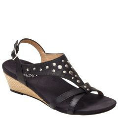 CATARINA BLACK LEATHER