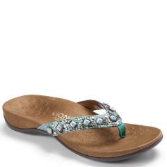 Vionic Floriana Synthetic Teal Sandals