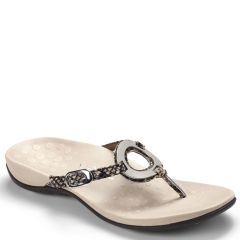 Vionic Karina Leather Natural Sandals
