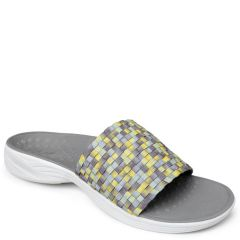 Vionic Kitts Textile Charcoal Sandals