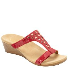 MAGGIE RED PATENT