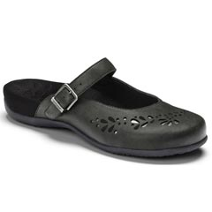 Vionic Midway Synthetic Black Clogs