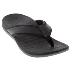 Vionic Tide Synthetic Black Sandals