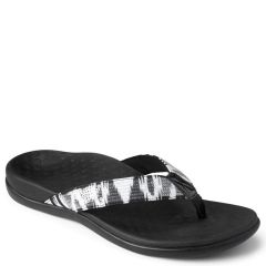 Vionic Tides Sequins Synthetic Black/White Sandals