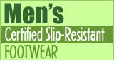Men's Slip-Resistant Culinary Footwear from Happy Feet Plus
