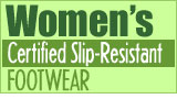 Women's Slip-Resistant Culinary Footwear from Happy Feet Plus