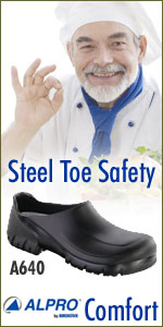 Happy Feet Plus - Alpro A640 Steel Toe Clog