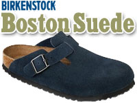 Happy Feet Plus - Birkenstock Boston Suede Clogs