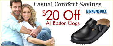 Save $25 on Birkenstock Leather Clogs