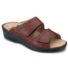 Finn Comfort Jamaica Leather Soft Footbed Brandy