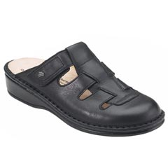 Finn Comfort Java Leather Black