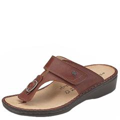 Finn Comfort Phuket Leather Brandy Sandals