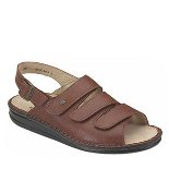FINN COMFORT SYLT LEATHER SOFT FOOTBED BRANDY COUNTRY