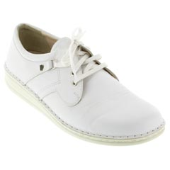VAASA LEATHER WHITE