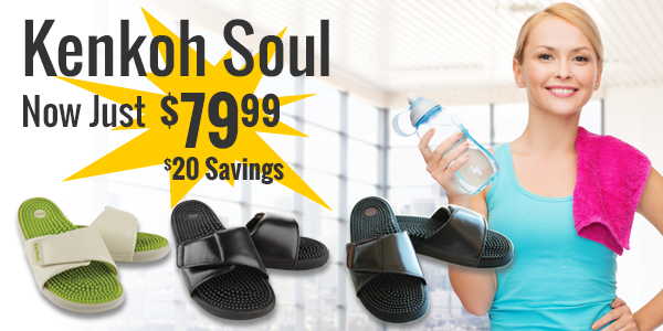 Save $20 on Kenkoh Soul sandals