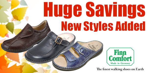 Finn Comfort - Huge Savings & New Styles Added