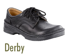 Footprints Derby Shoes