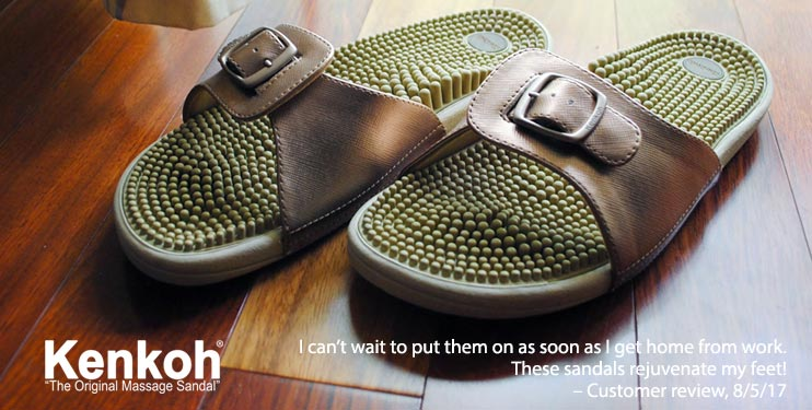 Kenkoh -The Original Massage Sandal