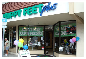 Happy Feet Plus Sarasota Store