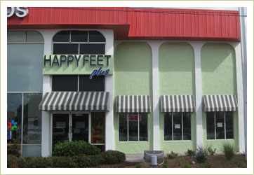 Happy Feet Plus St. Petersburg Store