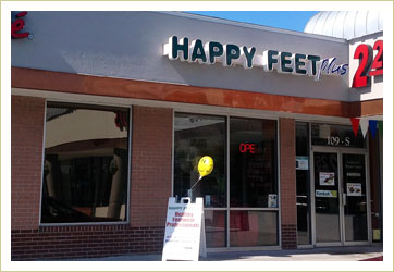 Happy Feet Plus Tampa Store
