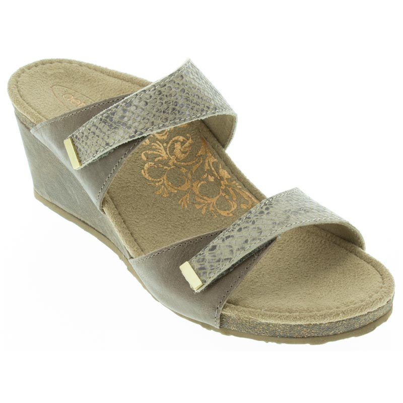 Aetrex Chantel Stone Sandals
