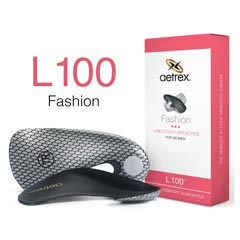 Aetrex L100 Women's Orthotic Black
