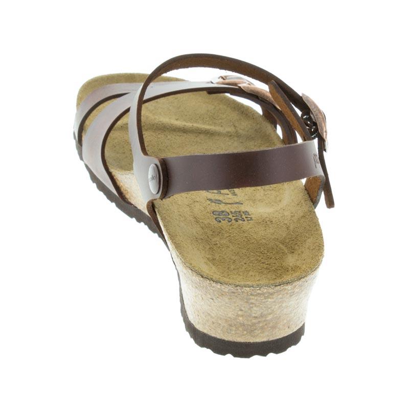 076497297f4d Womens Birkenstock Lana Cognac Leather - Happyfeet.Com