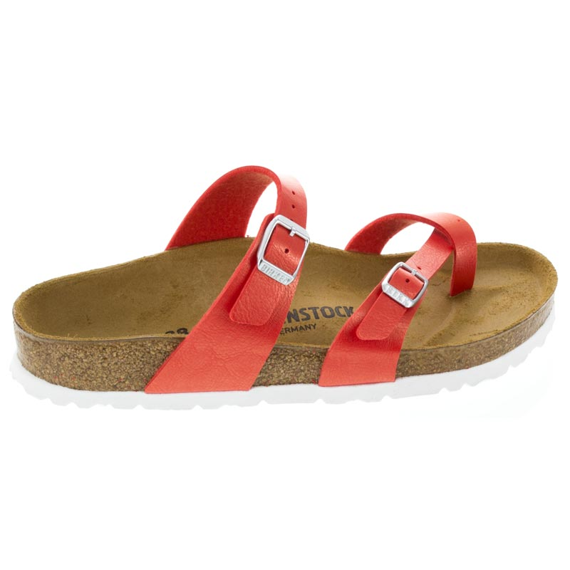 Birkenstock Mayari Graceful Hibiscus Birko-Flor right side view