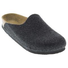 397592a34360 Birkenstock Amsterdam Anthracite Wool 55912
