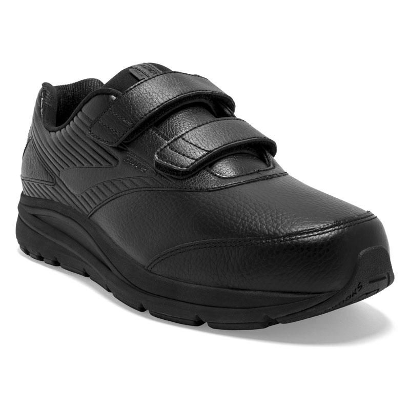 Brooks Addiction Walker 2 (Men's) Black Leather 115 2E