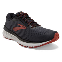 Brooks Adrenaline Gts 20 (Men's) Black/Ketchup Shoes