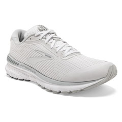 Brooks Adrenaline Gts 20 (Women's) White/Grey/Silver Shoes