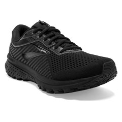 Brooks Ghost 12 (Women's) Black/Grey Shoes