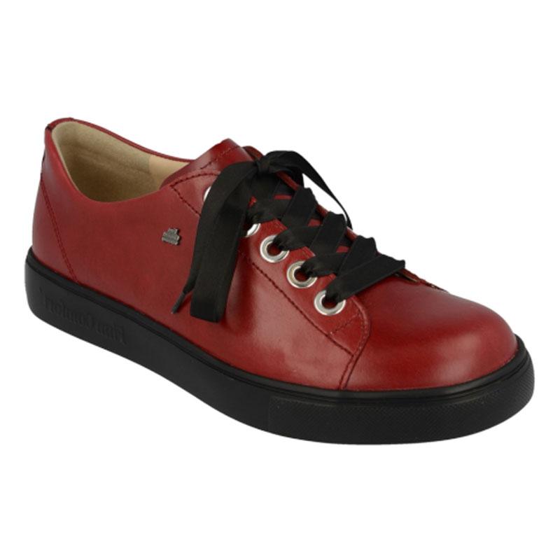 Finn Comfort Elpaso Red Leather 45 Uk