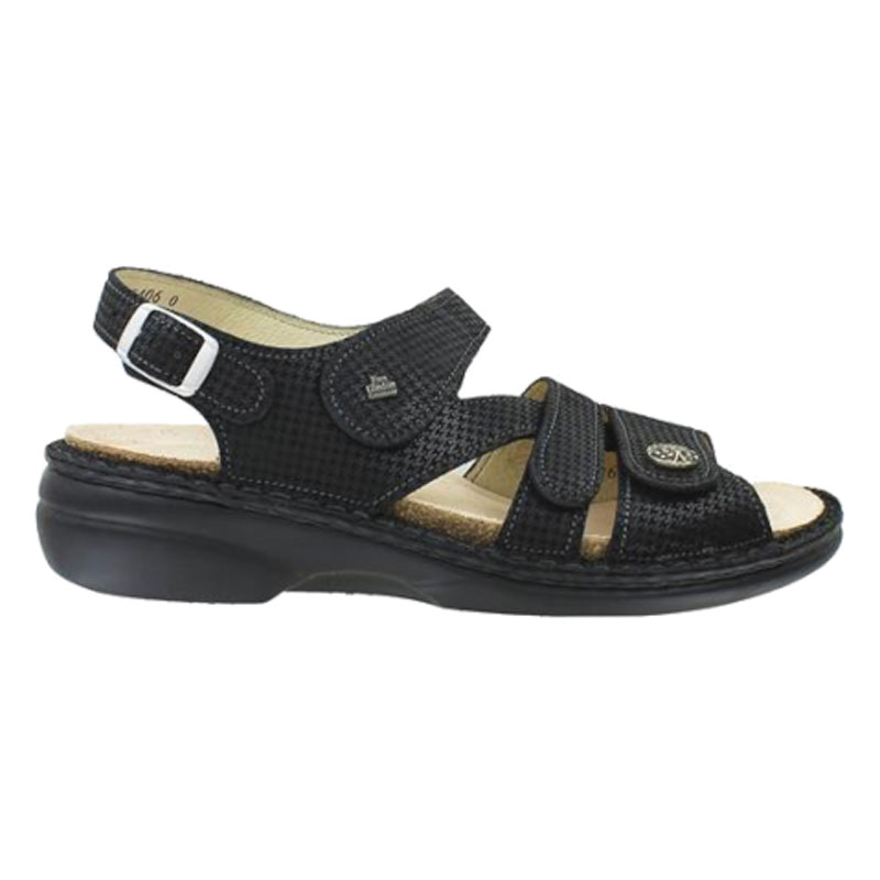 Finn Comfort Gomera Nero Hardy Leather Soft Footbed 41