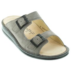 Finn Comfort Hollister Ginger Velour Sandals