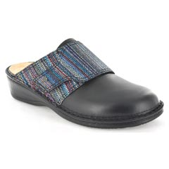 Finn Comfort Aussee Black Multi Clogs