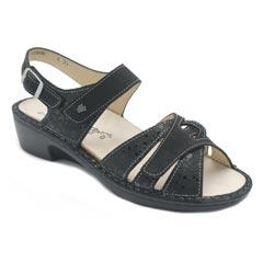 7255f4581 Finn Comfort Buka Black Estelar Sandals