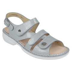 Finn Comfort Gomera Grey Sandals