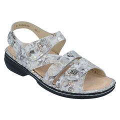 Finn Comfort Gomera Stone Pebble Sandals