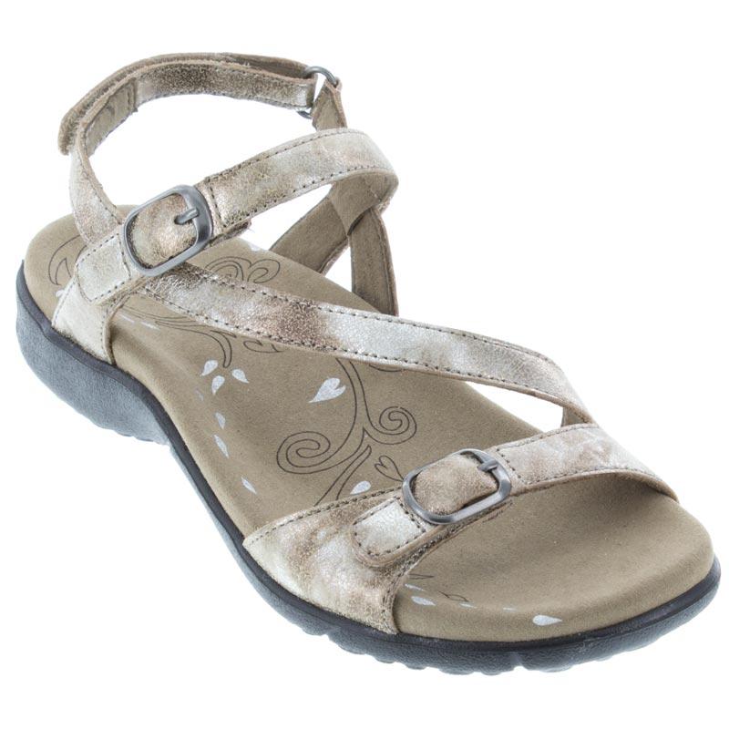 9904ce9ba3477 Womens Taos Beauty Vintage Silver Leather - Happyfeet.Com