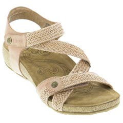 Taos Trulie Blush Sandals