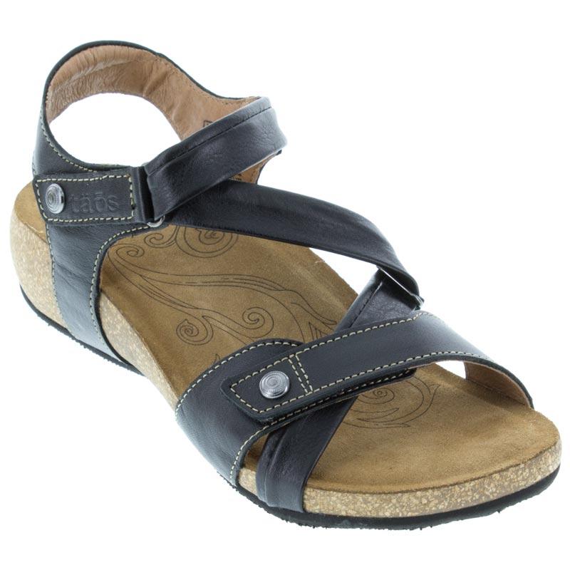 Taos Universe Black Sandals