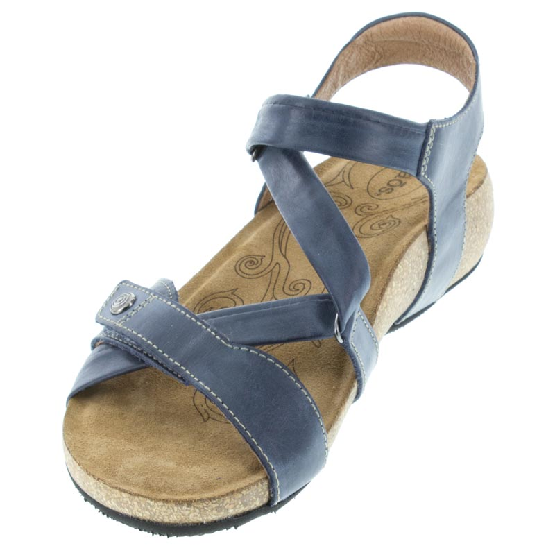 Womens Taos Universe Navy Leather