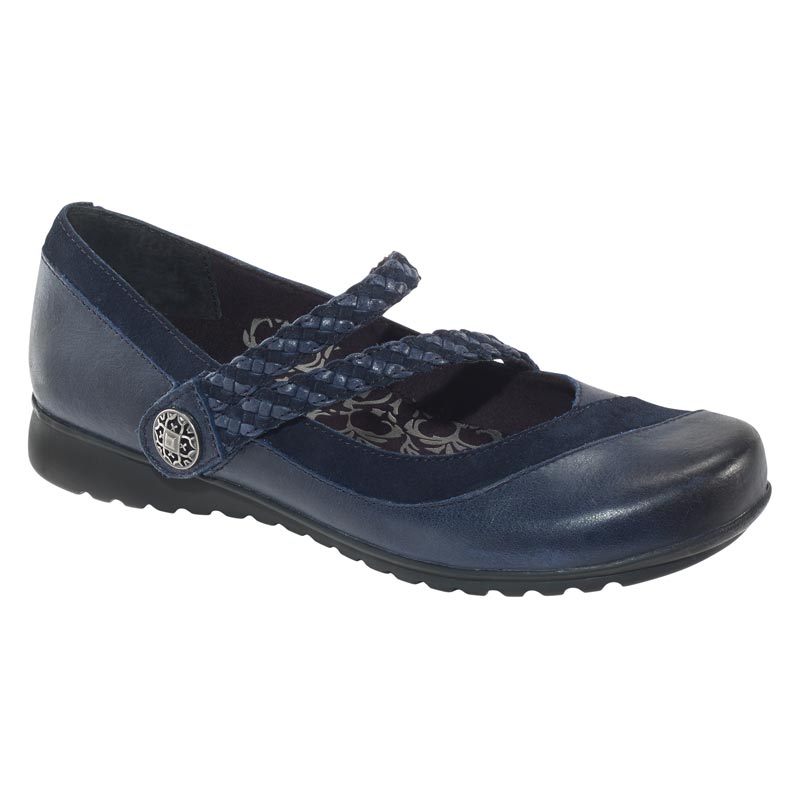 Aetrex Ada Navy Shoes