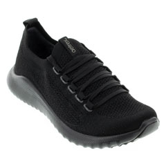 Aetrex Carly Black Shoes