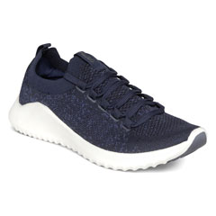 Aetrex Carly Navy Shoes